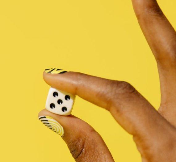 Spellen die je kunt spelen met een dobbelsteen #1